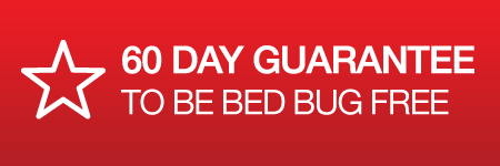 60 day guarantee to be bed bug free