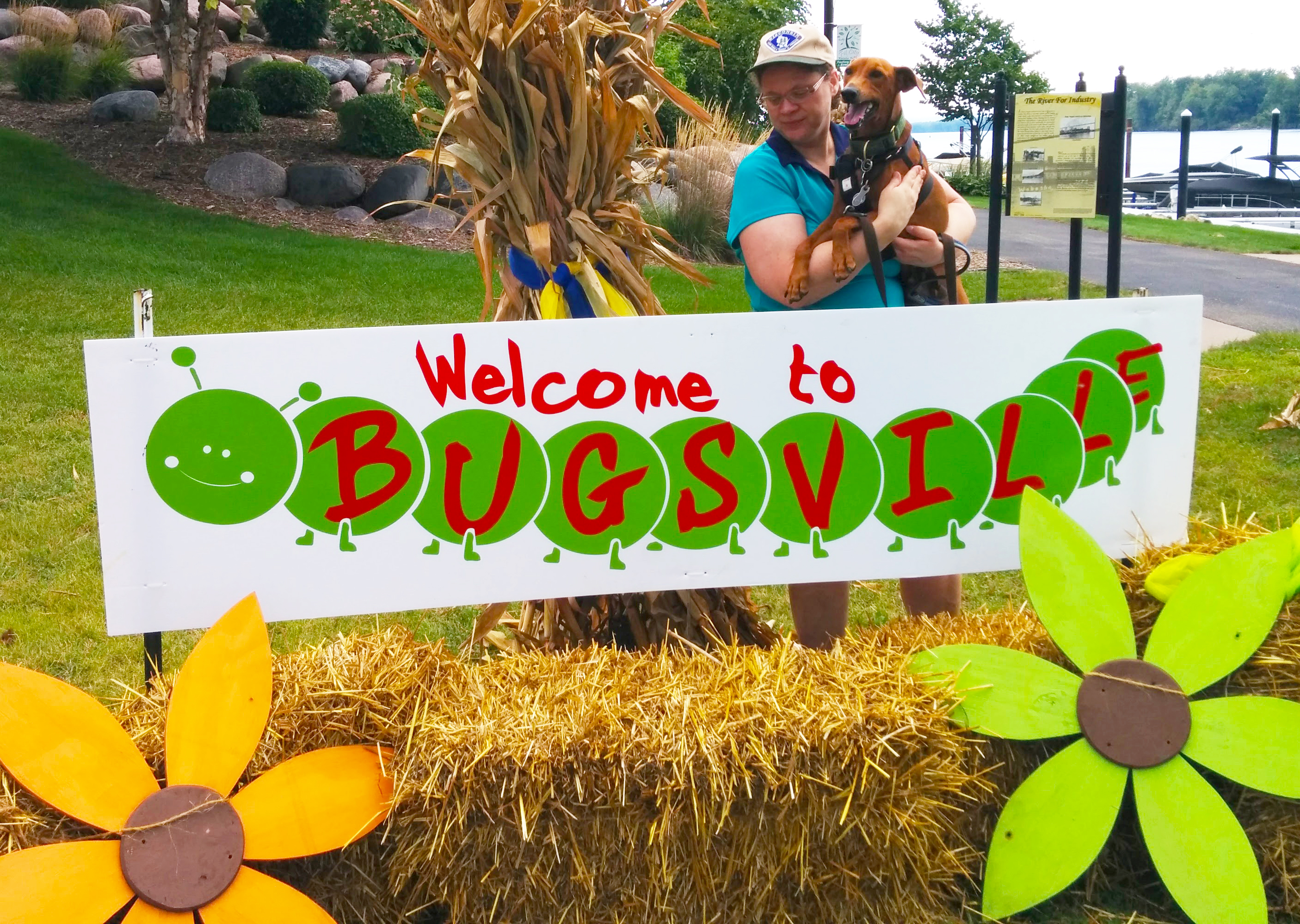 Bugsville – part of the annual SeptOberfest celebration in Wabasha, MN